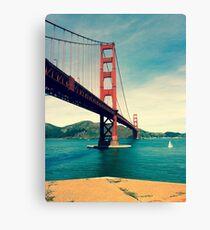 View of the Golden Gate Bridge Canvas Print