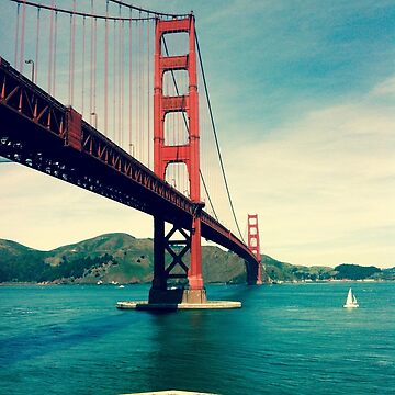 View of the Golden Gate Bridge by mariethebee