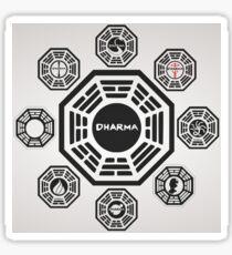Lost's Dharma Initiative Sticker
