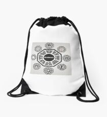 Lost's Dharma Initiative Drawstring Bag