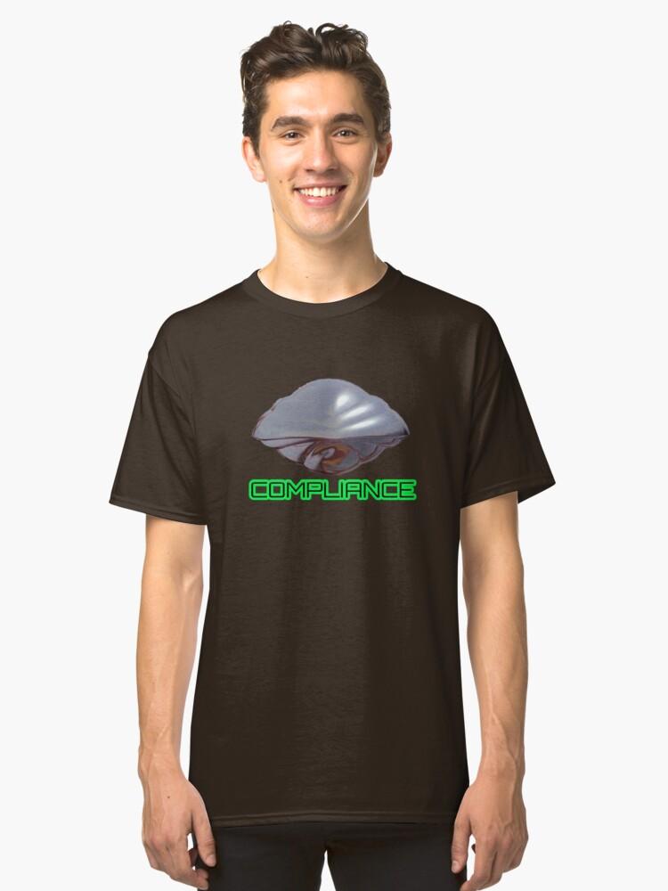 Compliance - Flight of the Navigator Classic T-Shirt Front