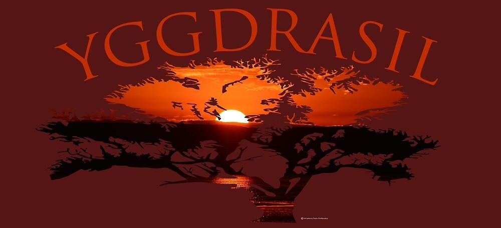 Yggdrasil- Tree of Life by Whisperingpeaks