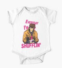 Master Shuffler Redux Short Sleeve Baby One-Piece