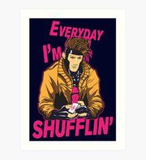 Master Shuffler Redux Art Print