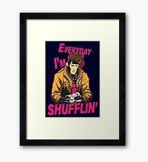 Master Shuffler Redux Framed Print