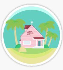 Kame House Minimalist Sticker