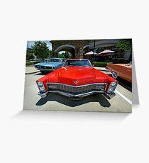 1967 Cadillac Sedan Deville - 2 Greeting Card