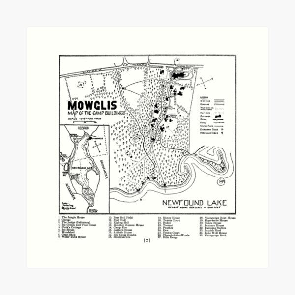 Col. Elwell Map Art Print