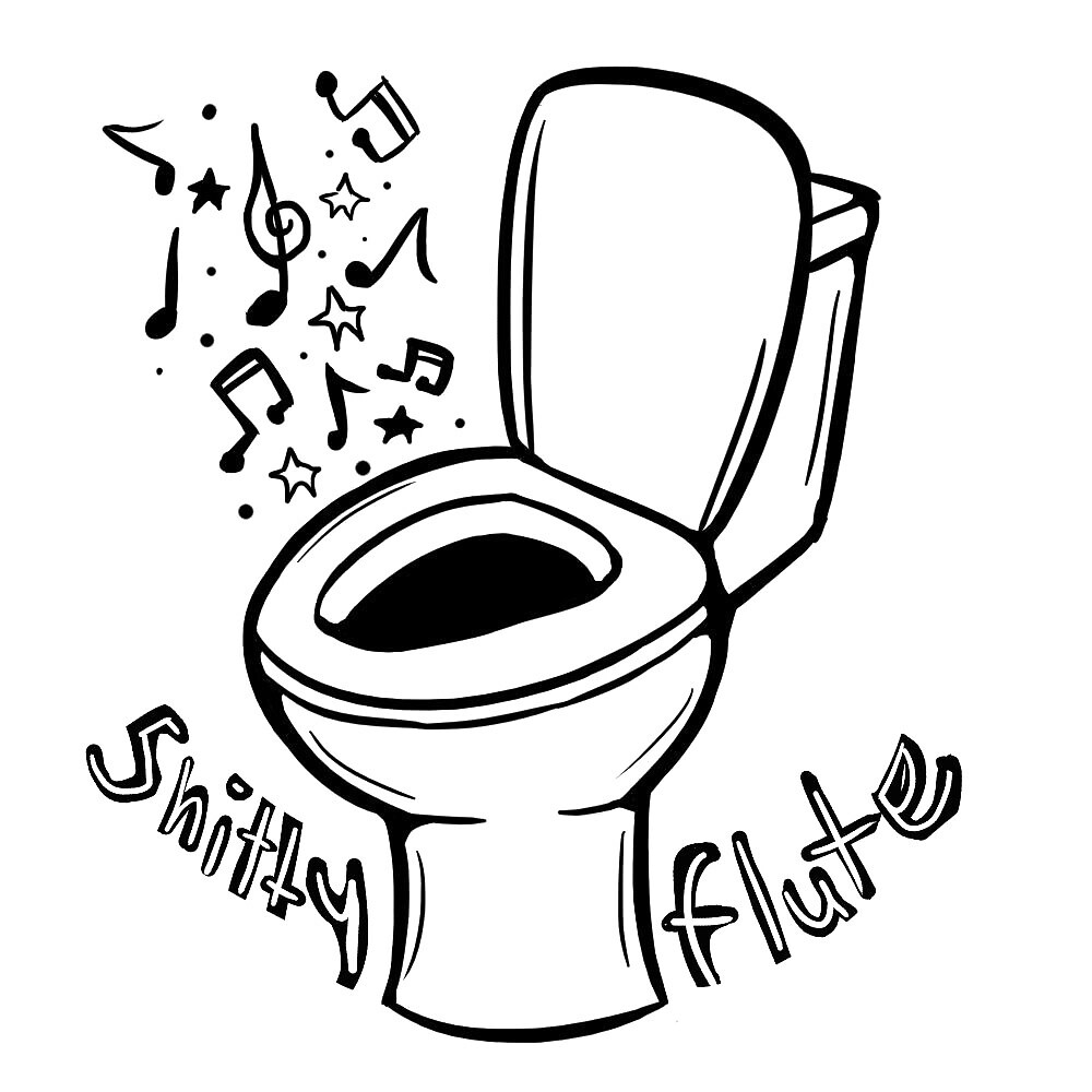 Shittyflute Toilet 1 by shitty