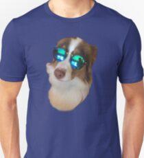 Dog's sunglasses Unisex T-Shirt