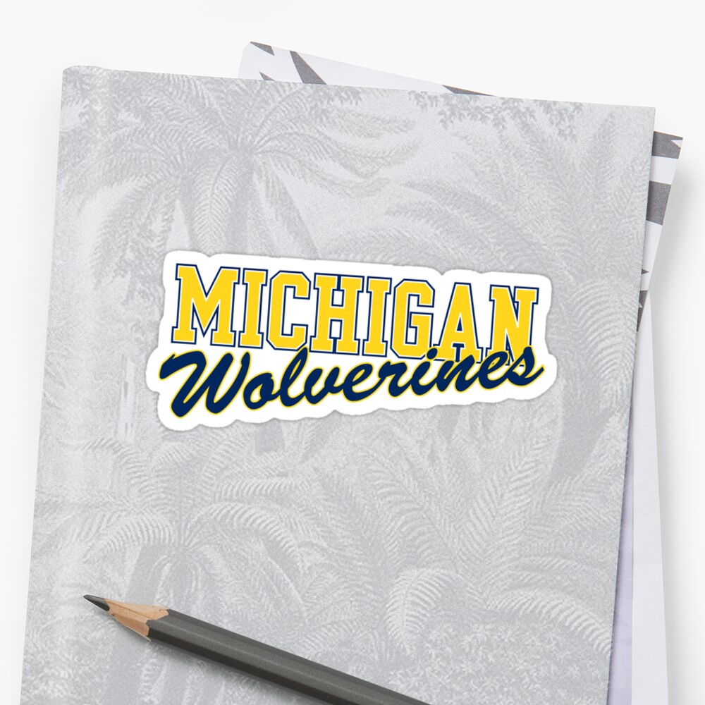 michigan wolverines by catscollegecuts