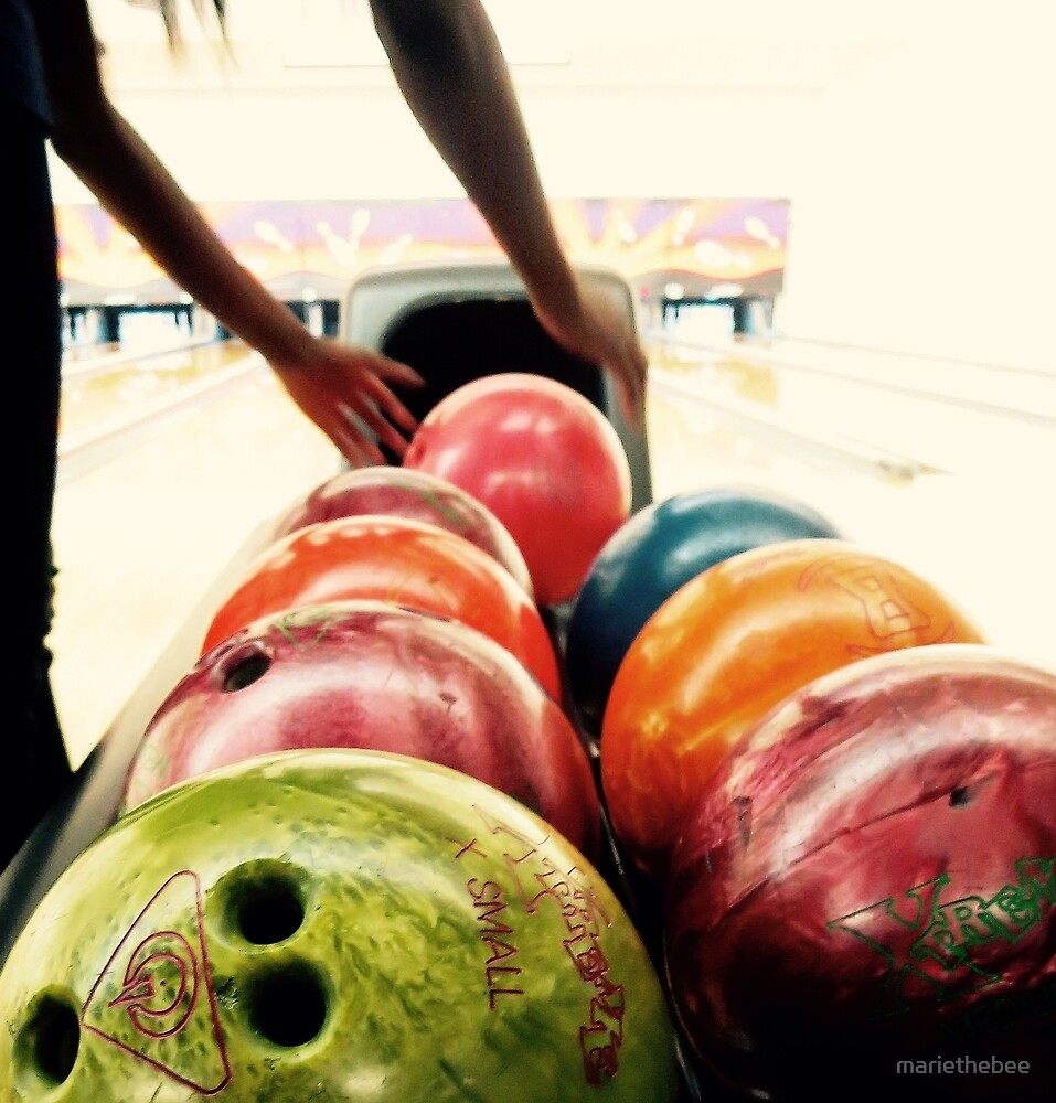 Going Bowling by mariethebee