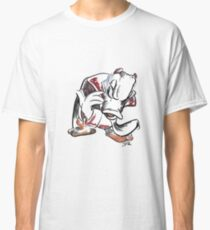Charcoal and Oil - Devil Donald Duck Classic T-Shirt