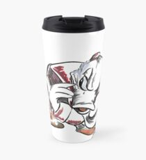 Charcoal and Oil - Devil Donald Duck Travel Mug