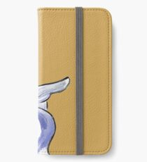 Charcoal and Oil - Angel Donald Duck iPhone Wallet/Case/Skin