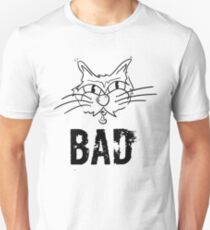 BAD Angry Cat Gift - For Cat Lover T-Shirt