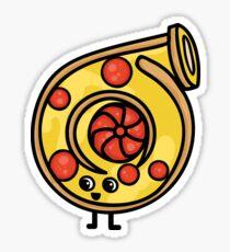 Turbo pizza Sticker