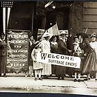 Suffrage Envoy Photograph (1915) by allhistory