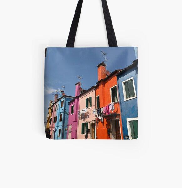 Burano  All Over Print Tote Bag