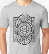 Ultra Heilige Geometrie Slim Fit T-Shirt