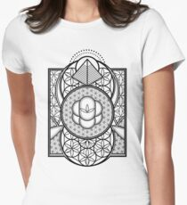 Ultra Sacred Geometry Womens Fitted T-Shirt