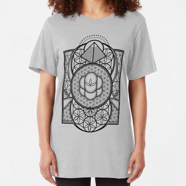 Ultra Sacred Geometry Slim Fit T-Shirt