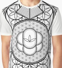 Ultra Sacred Geometry Graphic T-Shirt