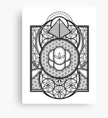 Ultra Sacred Geometry Canvas Print