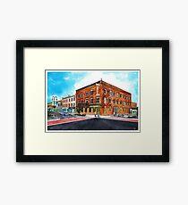 Downtown Georgetown SouthEast Corner - www.jbjon.com Framed Print