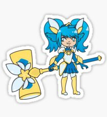 Blue Star Sticker