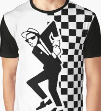 2 Tone Mod-Man Graphic T-Shirt