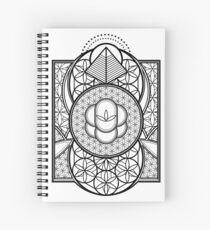Ultra Sacred Geometry Spiral Notebook