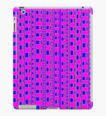 The straight story in wavy lines iPad Case/Skin