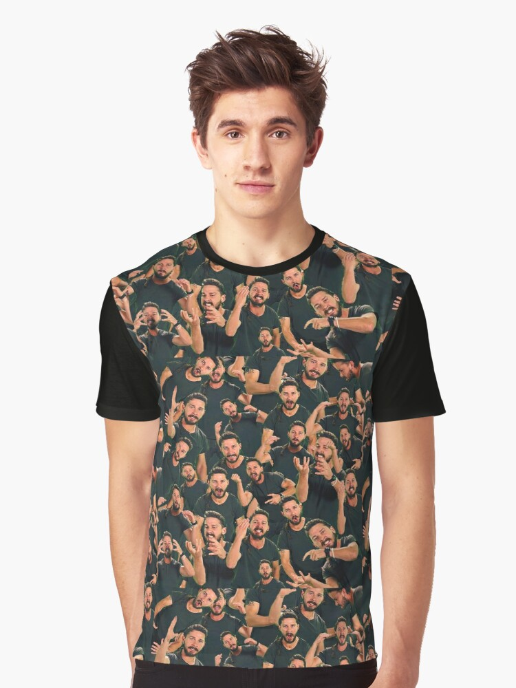 Just Shia It Graphic T-Shirt Front