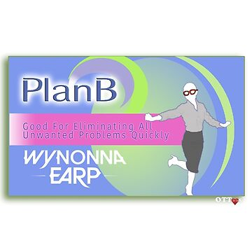 Wynonna Earp - Plan B (Blue) | OTTees by OTTees