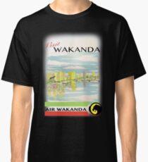 Visit Wakanda- Vintage Travel Ad Classic T-Shirt