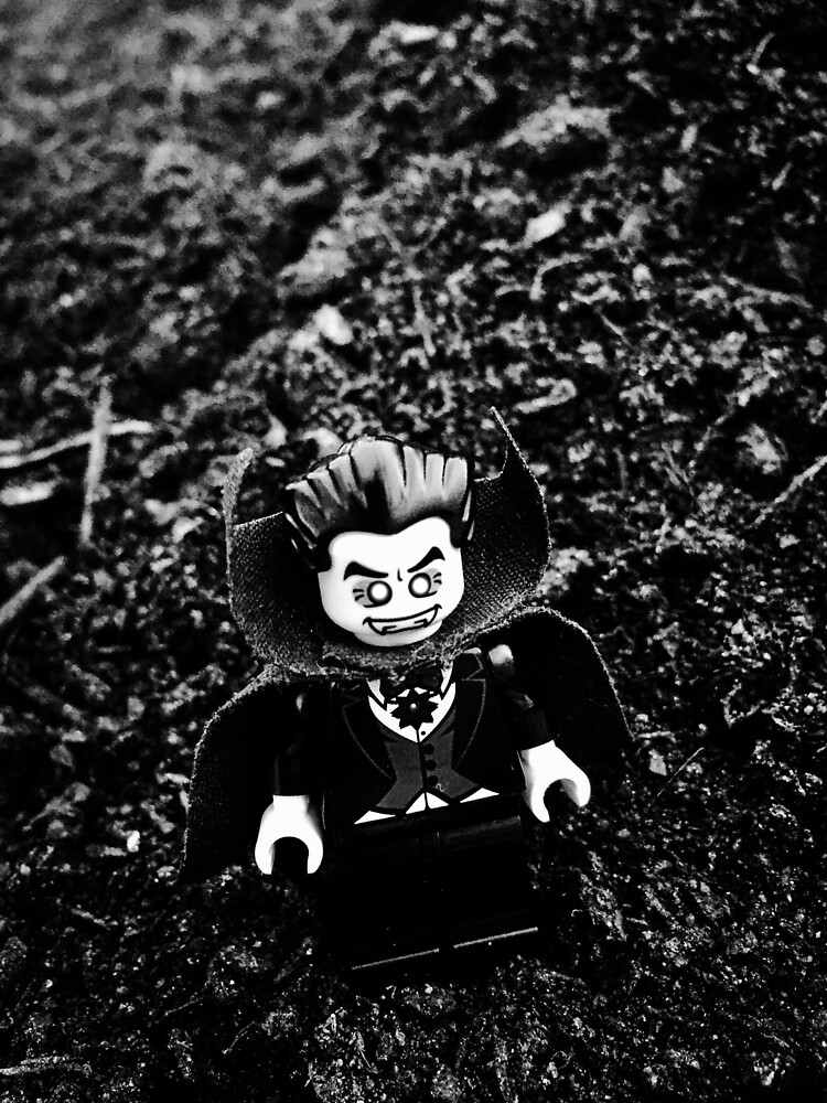 Brickography Pictures - Dracula by Phantomdrummer