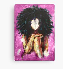 Naturally I PINK Canvas Print