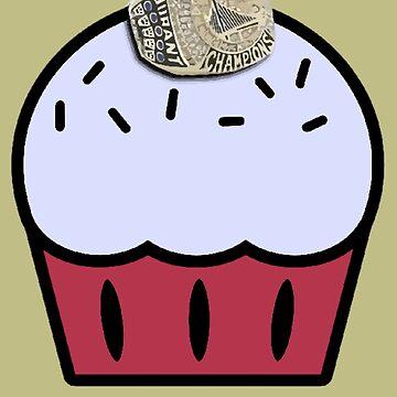 KD Championship Cupcake by Poyo