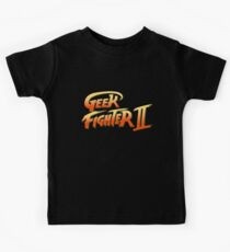 Street Fighter II - Geek Fighter II Kids Clothes