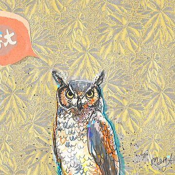 Twit Twitter Owl de ArtyMargit