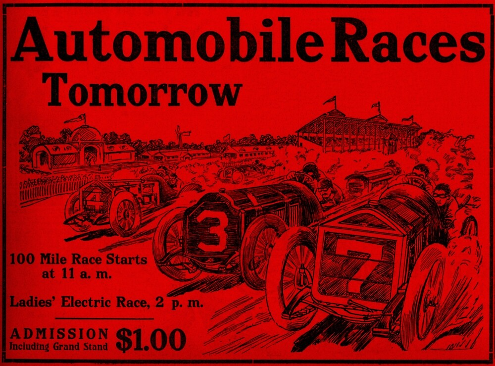 Automobile Races Tomorrow 1 by jimonym