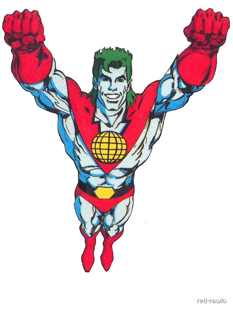 Captain Planet by red-rawlo