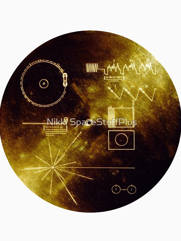 ¡El registro de oro Voyager! de Spacestuffplus