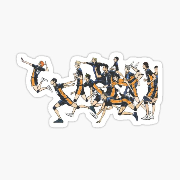 Karasuno - Haikyuu!! Sticker
