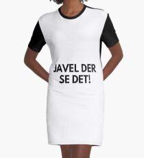 Kristiansand - Javel der se det! Graphic T-Shirt Dress