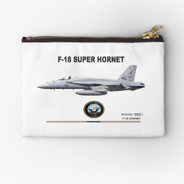 F/A-18 Hornet  Zipper Pouch