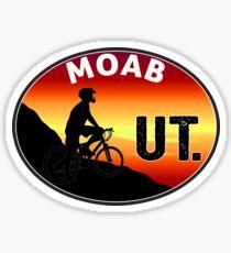 MOAB UTAH MOUNTAIN BIKE ARCHES NATIONAL PARK BIKING BIKER Sticker