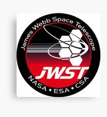 James Webb Space Telescope Component Logo Canvas Print