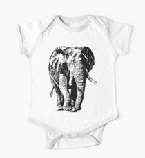 Big African Bull Elephant | African Wildlife Kids Clothes